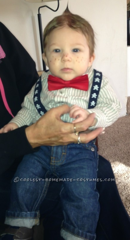 Alfalfa – Cutest Little Rascal Baby Costume - 5