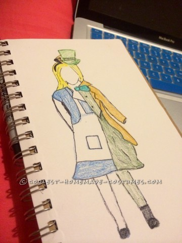 Original Alice and ALL of Wonderland Costume