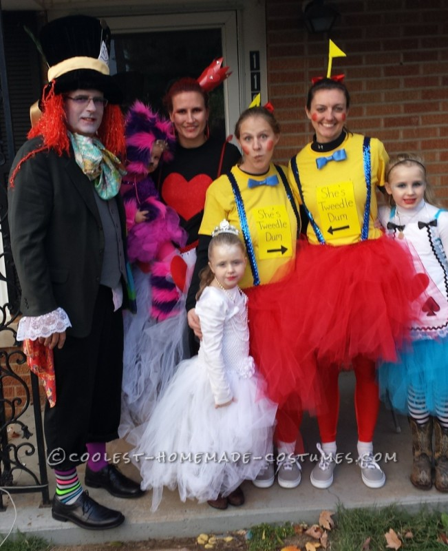 Coolest Alice in Wonderland Group Costume
