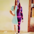Original Alice In Wonderland and Cheshire Cat All-In-One Costume