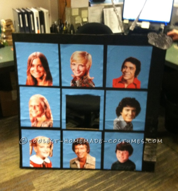 Homemade Alice Nelson Brady Bunch Costume