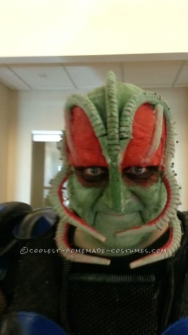 Cool DIY Alien Costume
