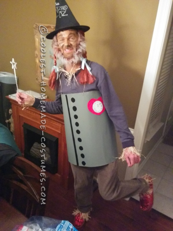 Homemade All-In-One Wizard of Oz Costume