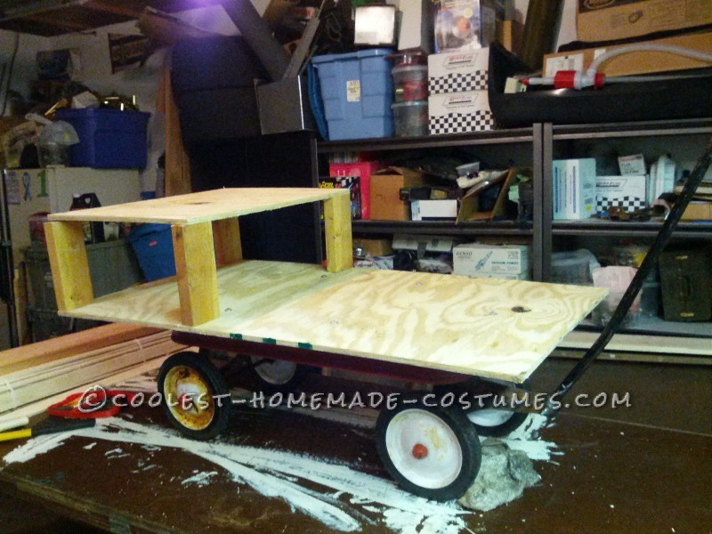 All Wooden Pirate Ship Wagon for Toddler - 2