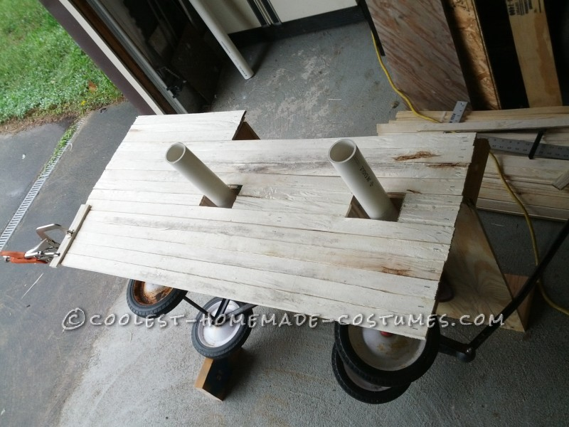 All Wooden Pirate Ship Wagon for Toddler - 3