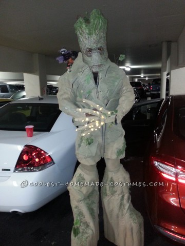 Amazing 8' Tall Homemade Groot Costume