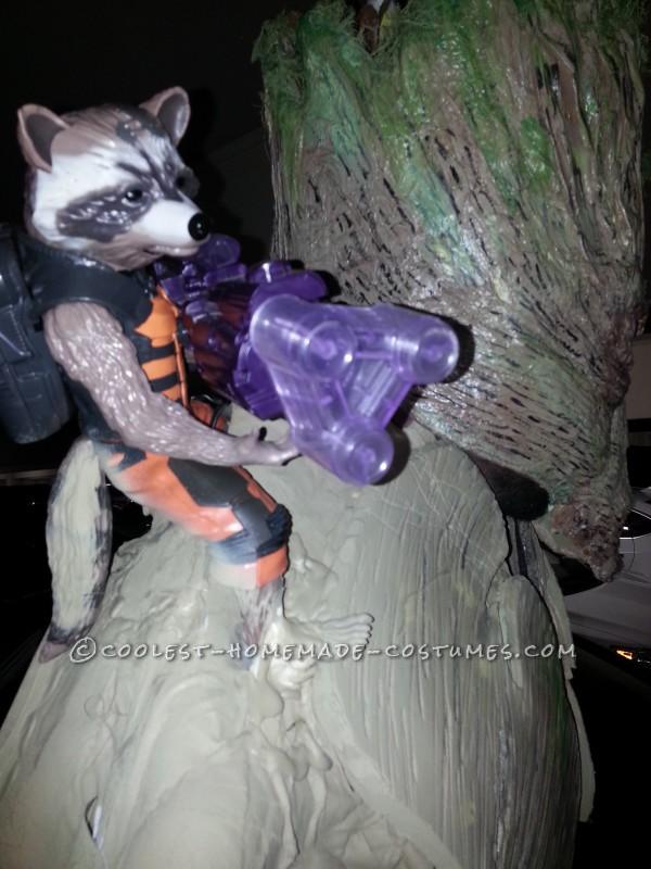 Amazing 8' Tall Homemade Groot Costume