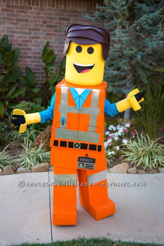 Amazing DIY Lego Man Costume