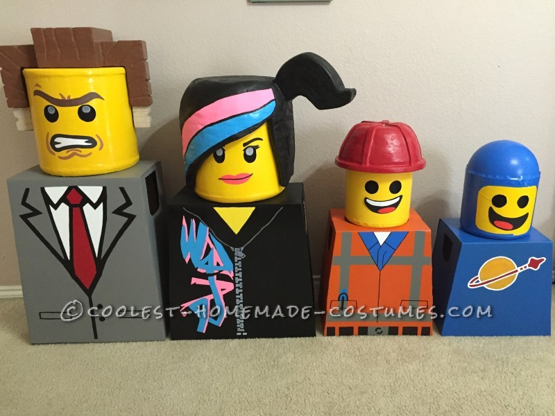 Amazing Family Themed Lego Movie Costumes! - 8
