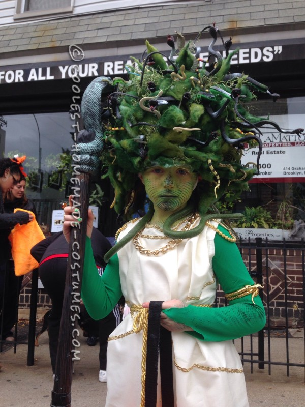 Amazing Medusa Costume and Makeup - 1