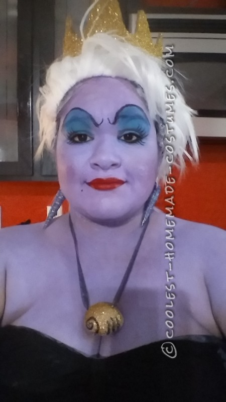 Cool Homemade Ursula Adult Costume - 1