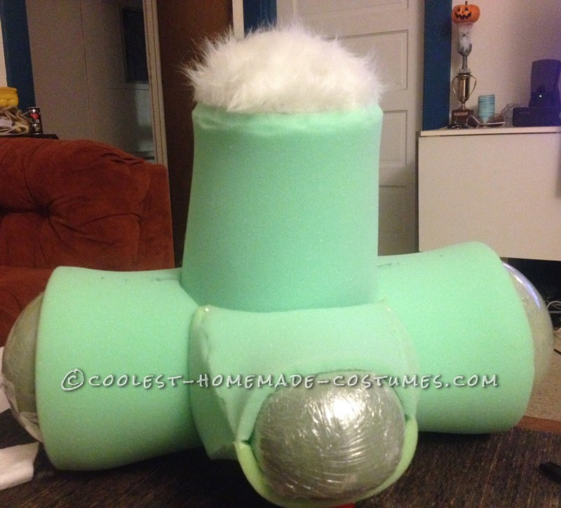 The foam structure of Roger Rabbit head