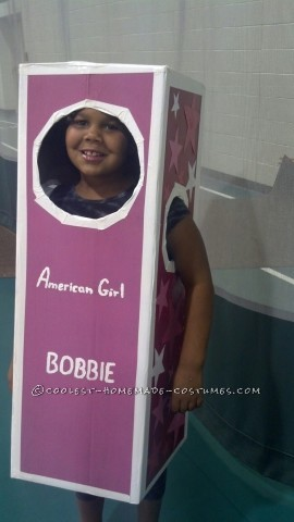 Homemade American Girl Doll Costume