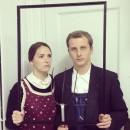 American Gothic Couple Costume