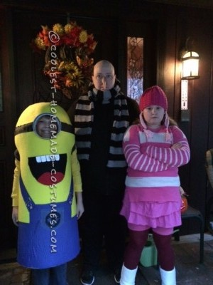 My Despicable Family Group Costume