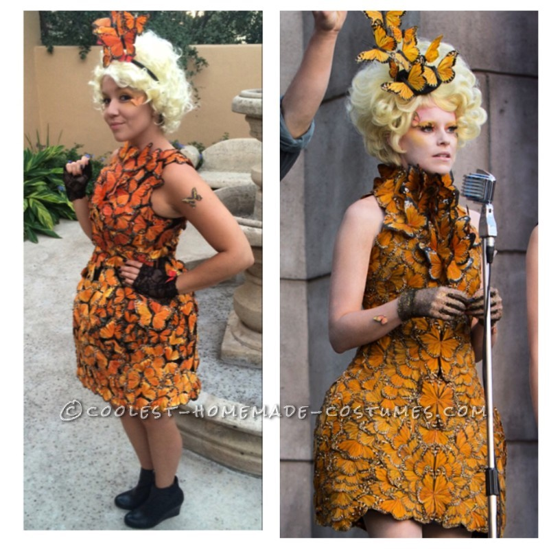 Original and Beautiful Hunger Games Butterfly Costume - 1