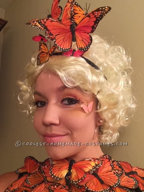 Original and Beautiful Hunger Games Butterfly Costume - 2