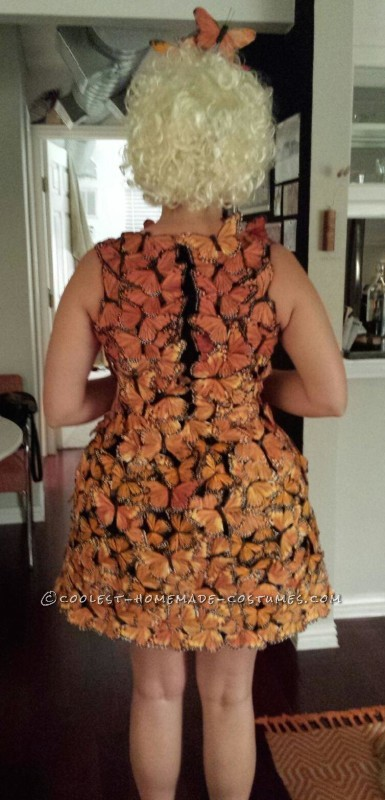 Original and Beautiful Hunger Games Butterfly Costume - 5