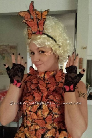 Original and Beautiful Hunger Games Butterfly Costume