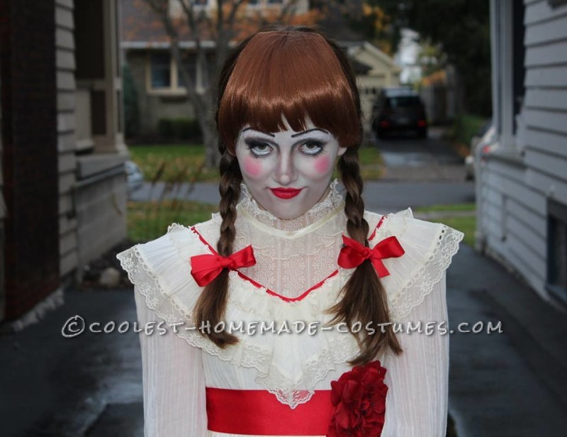 Creepy Annabelle Halloween Costume