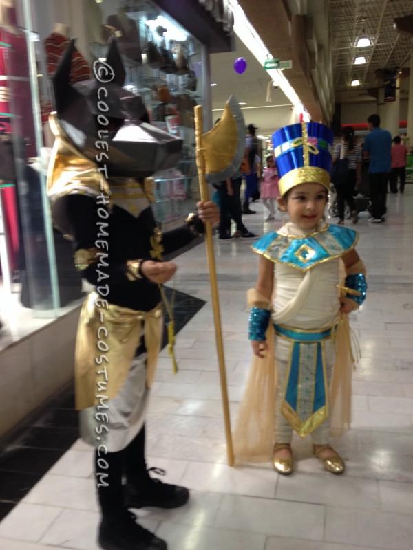 Egyptian Anubis and Nefertiti Couple Costume - 2