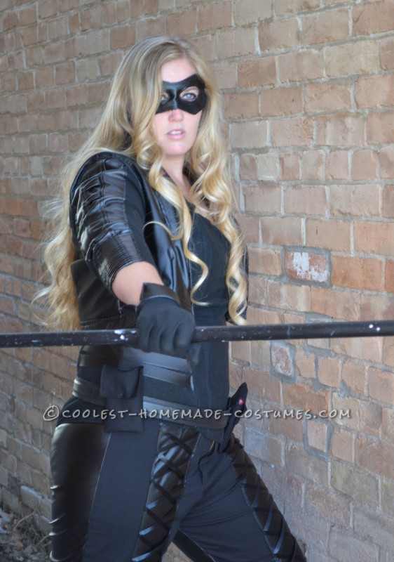 Coolest Homemade Arrow's Sarah Lance Costume as Black Canary - 1