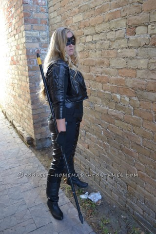Coolest Homemade Arrow's Sarah Lance Costume as Black Canary