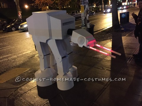 Awesome Homemade AT-At Walker from Star Wars