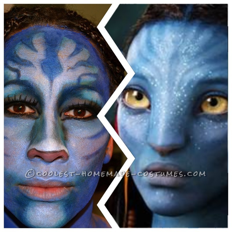 makeup trial, fail!