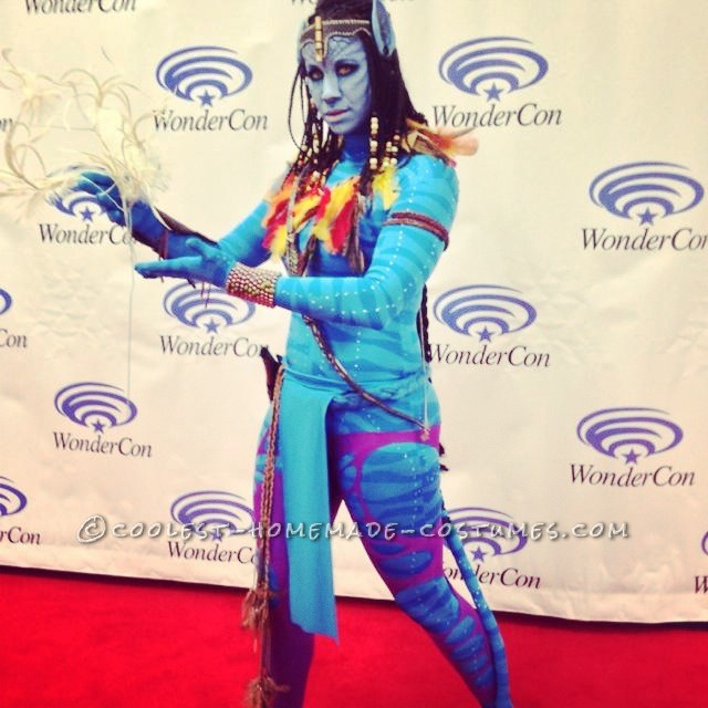 """Full costume with """"Tree of souls"""" prop"""