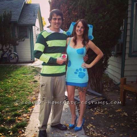 Awesome Blue's Clues Couple Costume