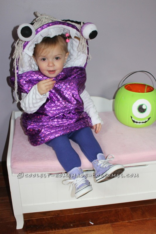 Awesome Boo Toddler Costume - 2