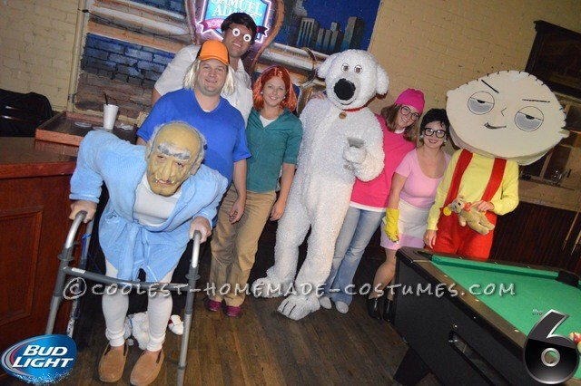 Awesome Family Guy Group Costume