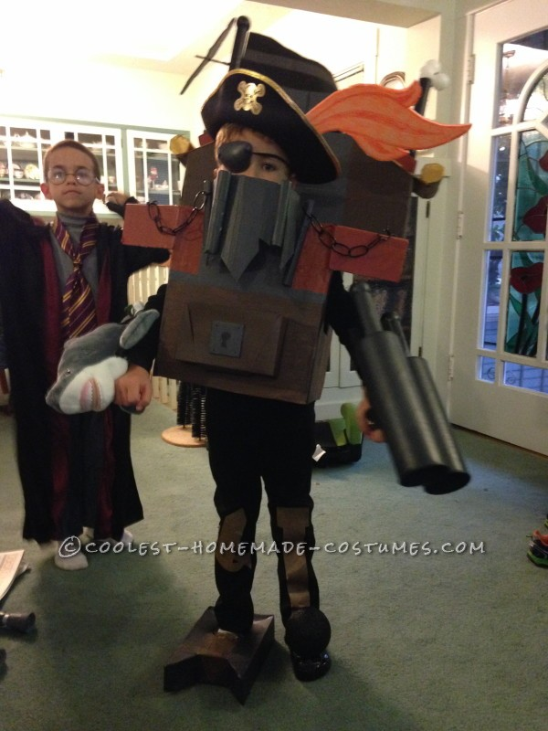 Awesome Lego Metalbeard Costume