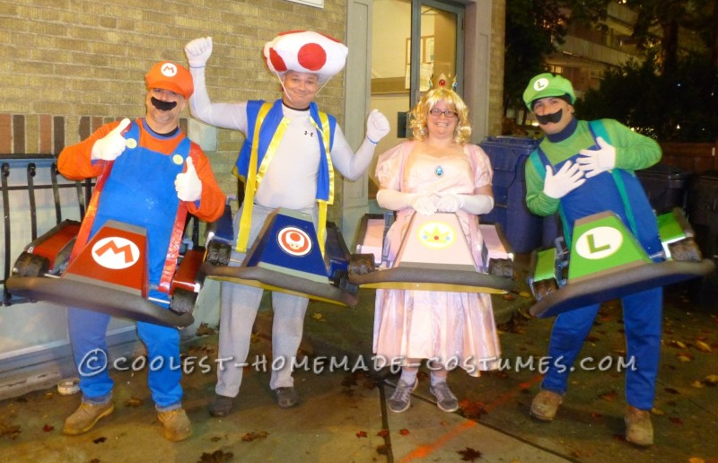 Awesome Mario Kart Group Costume