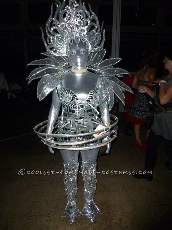 Awesome Scifi Lighted Extraterrestrial Alien Costume - 1