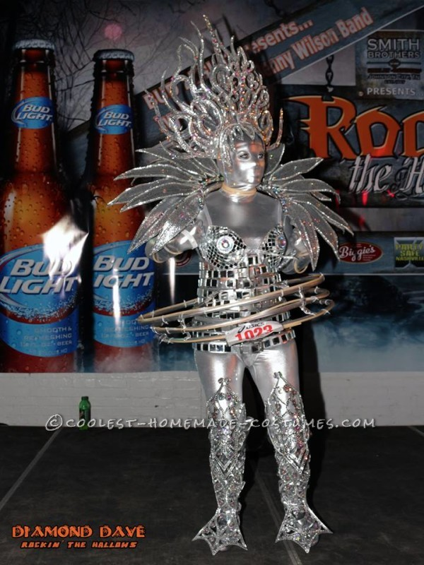 Awesome Scifi Lighted Extraterrestrial Alien Costume - 2
