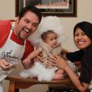 Cutest Homemade Baby Cannoli Costume