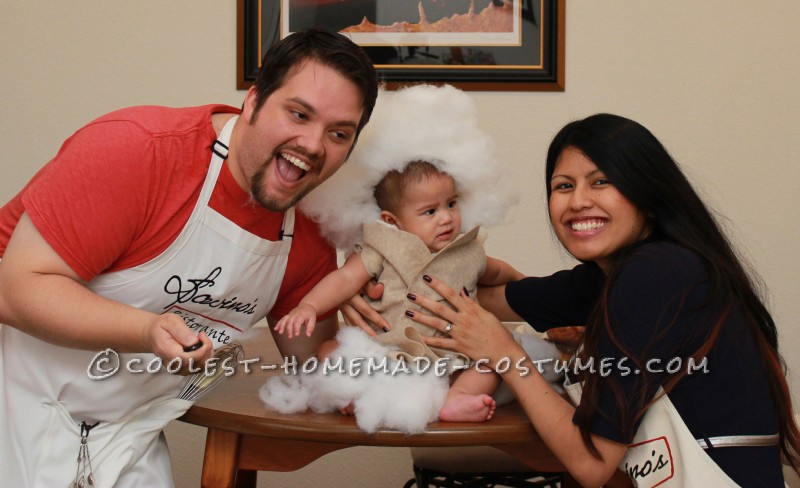 Cutest Homemade Baby Cannoli Costume