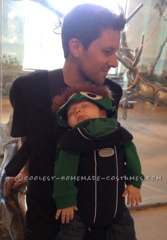 Cutest Baby Oscar the Grouch Costume