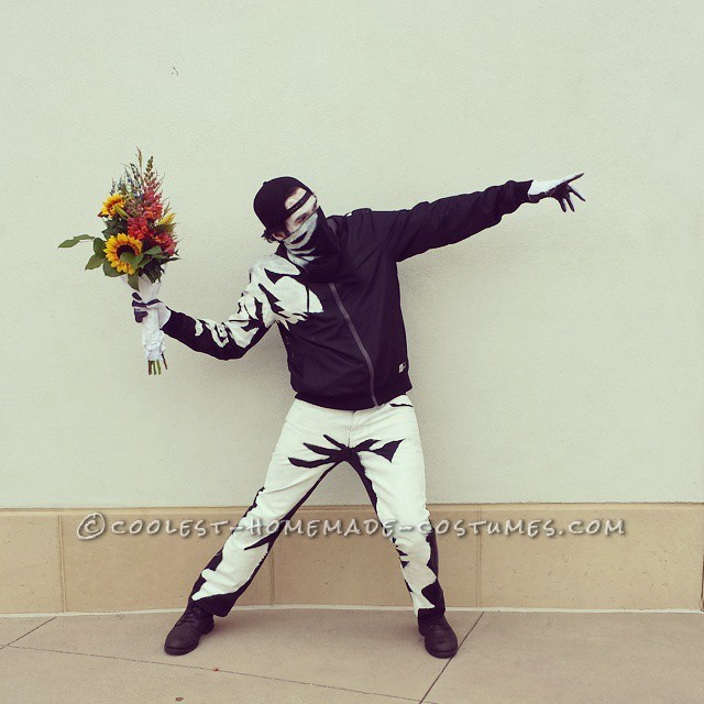 The Most Original Costume – Banksy's Flower Thrower