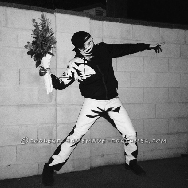 The Most Original Costume – Banksy's Flower Thrower - 3