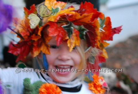 Beautiful 5 Year Old Mother Nature Costume