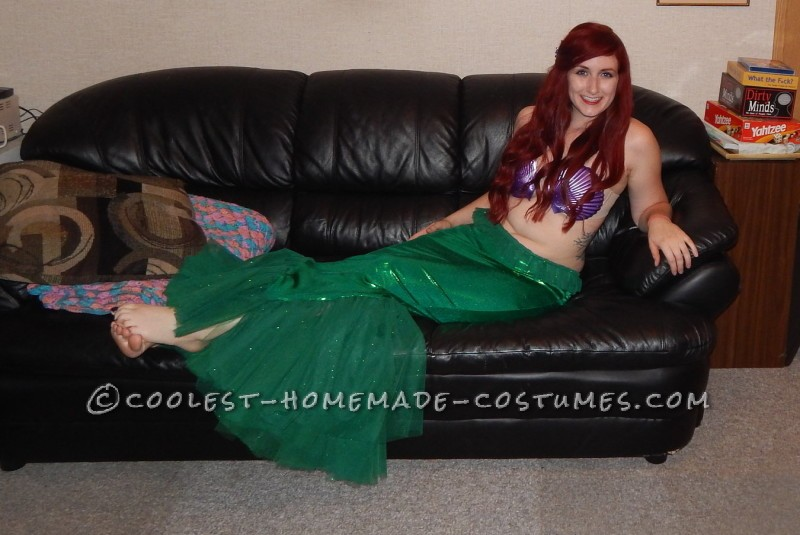 Beautiful Ariel the Little Mermaid Costume - 1