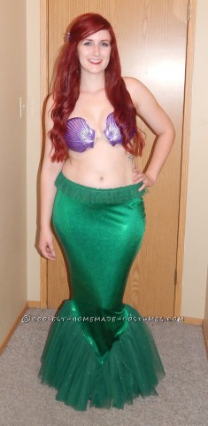 Beautiful Ariel the Little Mermaid Costume