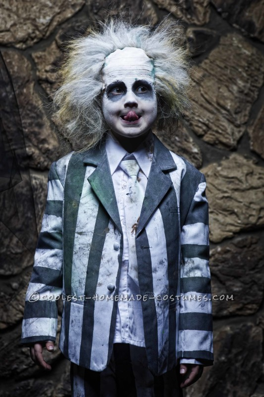 My five year old as Beetlejuice.  (Photo by Tidy Photography)