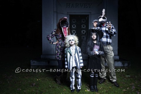 Fun Beetlejuice Family Costume