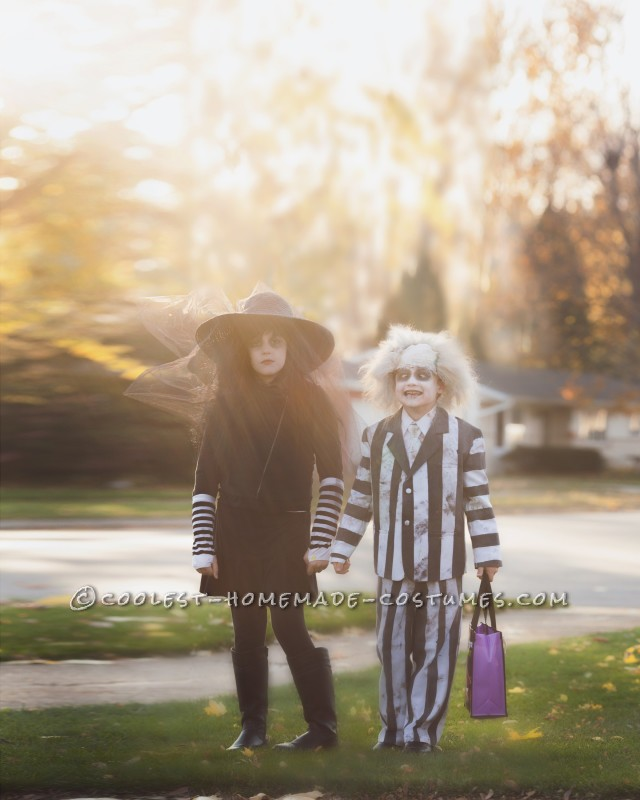 My kids Trick or Treating (Photo by Boomerang Photography)