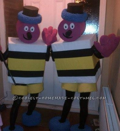 Coolest Bertie Bassett Sweetie Couple Costume