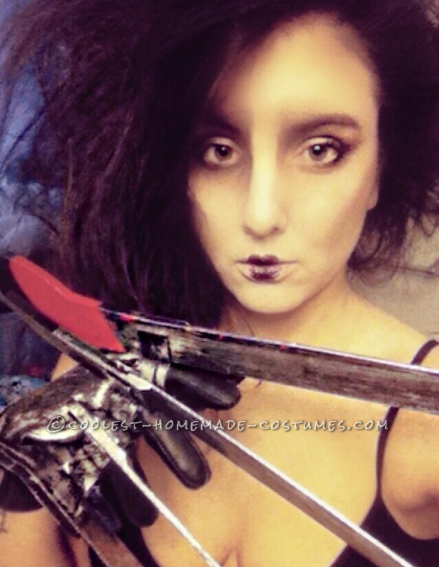 edward scissorhands costume makeup
